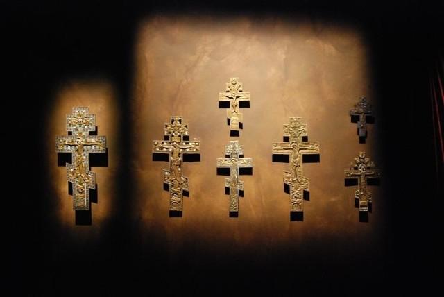 Muzeum Ikon ma w swoich zbiorach również potężną kolekcję prawosławnych krzyży
