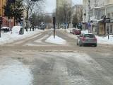 Białystok. Zobacz, jak wyglądają ulice w centrum. Akcja odśnieżanie [niedziela 14.02.2021]
