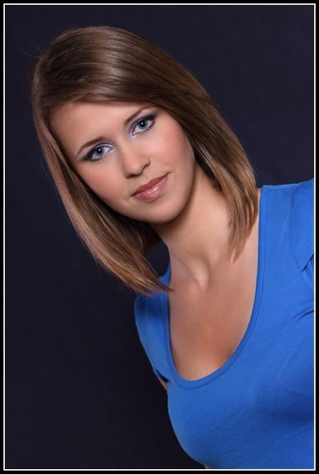 Martyna Chwaszczewska w konkursie na Miss Podlasia 2009 startuje z numerem 13.