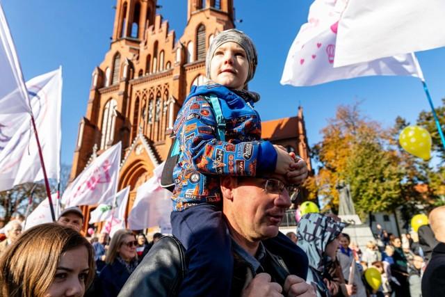 Białostocki Marsz dla Życia i Rodziny (10.10.2021 r.).
