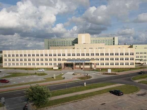Szpital w Słupsku.