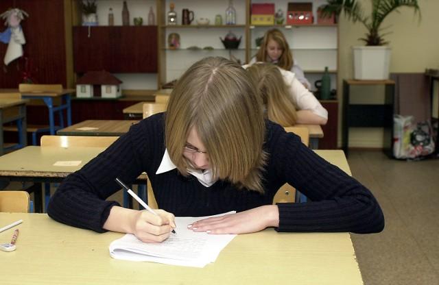 Trzecioklasiści z Gimnazjum nr 5 w Szczecinie ocenili test jako dość łatwy.