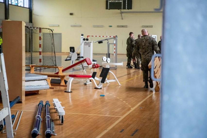 Wojsko opróżnia halę UMB. Do końca listopada powstanie tu...