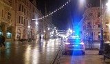 Bójka na ul. Piotrkowskiej. Awanturnik zaatakował klientów jednego z klubów. W ruch poszedł gaz łzawiący