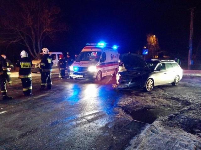 Wypadek w miejscowości Małe Turze