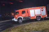 Tragiczny pożar pustostanu w Górkach. Nie żyje jedna osoba