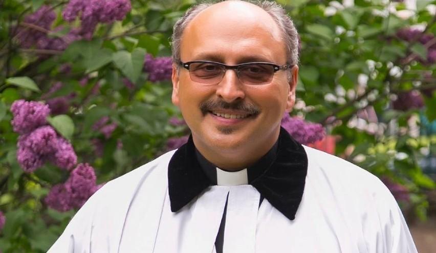 Biskup Adrian Korczago.