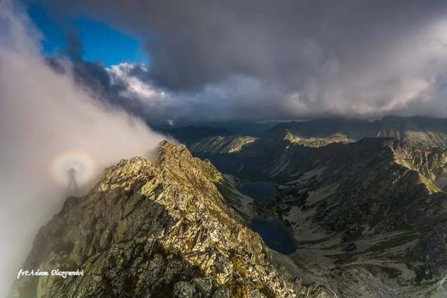 Widmo Brockenu w Tatrach Wysokich