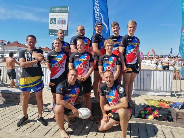 KS Budowlani na Sopot Beach Rugby
