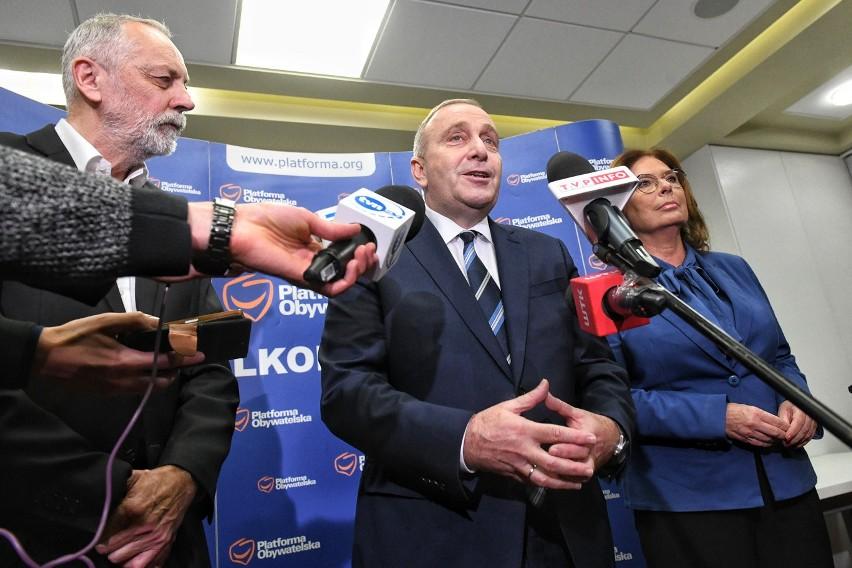 Rafał Grupiński, Grzegorz Schetyna i Małgorzata...