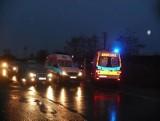 Zderzenie trzech aut w Stargardzie. Kobieta trafiła do szpitala