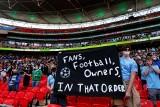 """Osiem tysięcy kibiców obejrzało finał Pucharu Ligi na Wembley. """"Długo na to czekaliśmy"""""""