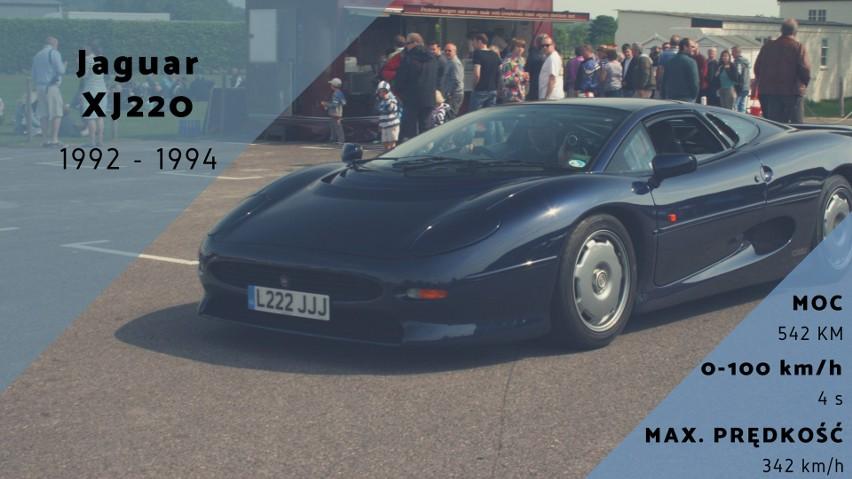 Jaguar XJ220 to samochód produkowany ponad 20 lat temu, a...