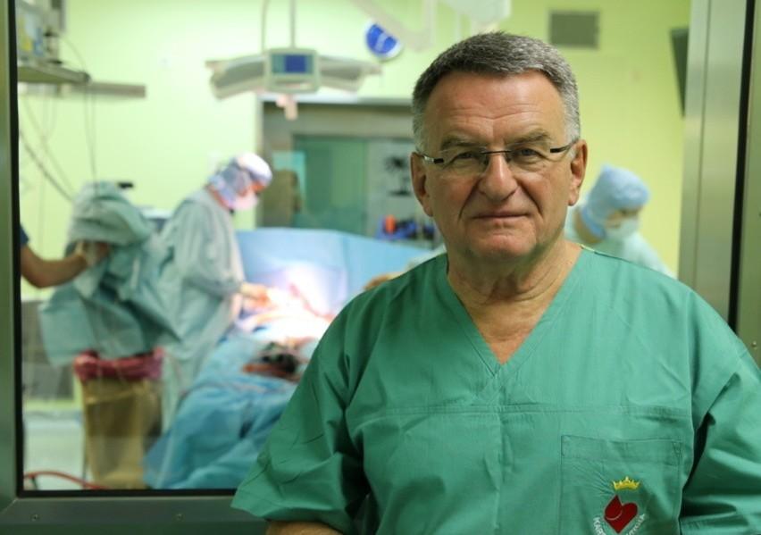 Prof. Jerzy Sadowski: Chciałbym operować w Krakowie, bo wiem, że jest taka potrzeba