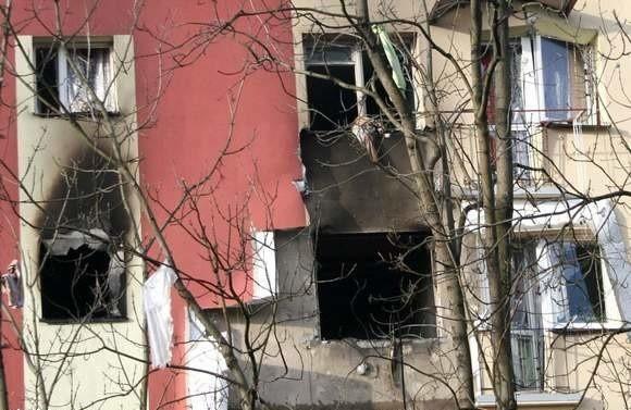 W wyniku wybuchu uszkodzonych zostało 11 mieszkań.