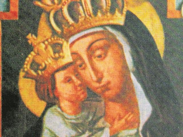 Tak wyglądała Madonna na obrazie olejnym namalowanym przez por. Siemiradzkiego