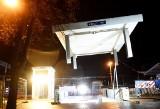 Nocna akcja na dworcu PKP w Zielonej Górze. Po starym zadaszeniu podziemnego przejście nie ma już prawie śladu [ZDJĘCIA, WIDEO]
