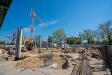 Budowa nowego dworca dla autobusów MPK w Nowym Sączu [ZDJĘCIA]