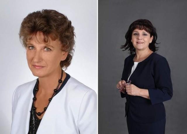 Małgorzata Stanisławczuk i Barbara Dykier.