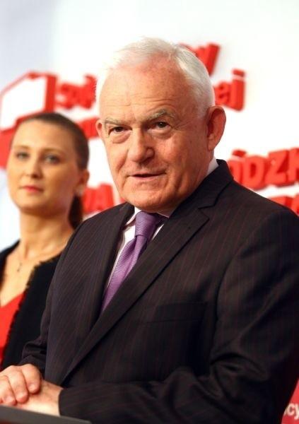 Leszek Miller, przewodniczący Sojuszu Lewicy Demokratycznej z wizytą w Szczecinie