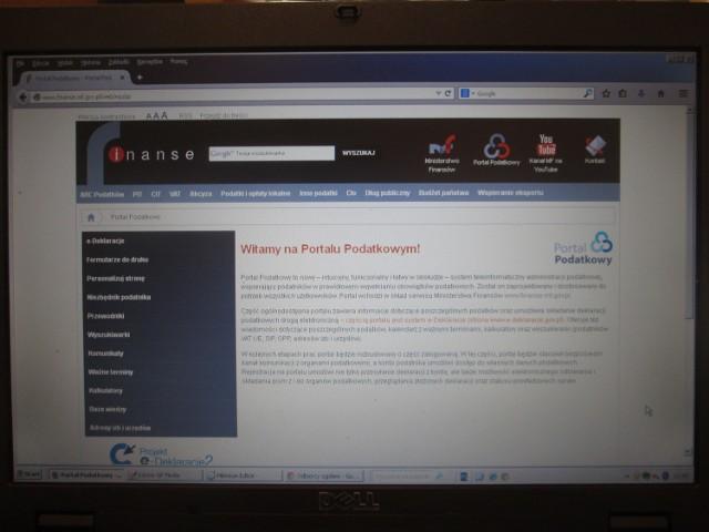 W tym portalu można składać e-deklaracje, jest kalendarz z ważnymi terminami i kalkulatory Strona www.portalpodatkowy.mf.gov.pl.