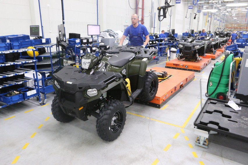 Polaris chce rozszerzyć sprzedaż pojazdów w AfryceW opolskim zakładzie Polarisa powstaje już około 20 modeli quadów oraz po cztery razorów i rangerów.