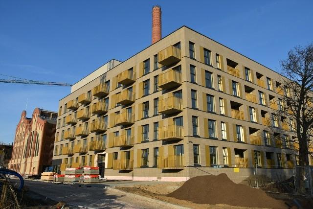 Pierwsze dwa nowe domy kompleksu Fuzja są już gotowe do oddania ich do użytku.