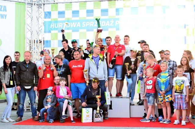 Po raz drugi w powiecie przasnyskim została rozegrana jedna z rund Mistrzostw Okręgu Warszawskiego Kierowców Amatorów PZM.
