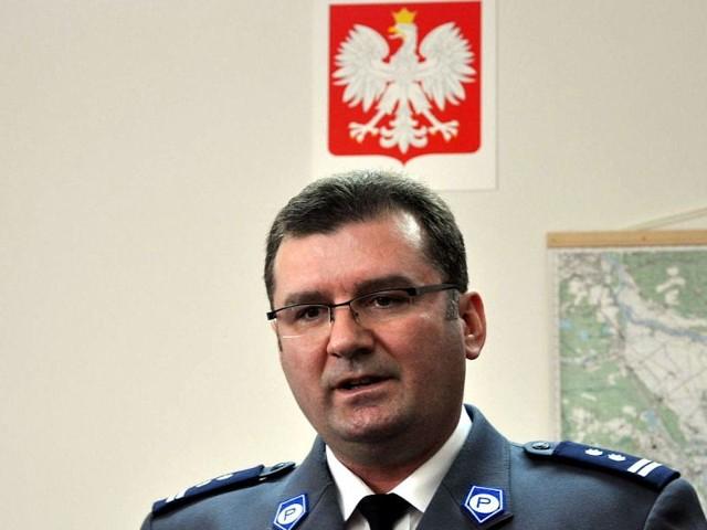 Mł. insp. Jarosław Kruszelnicki.