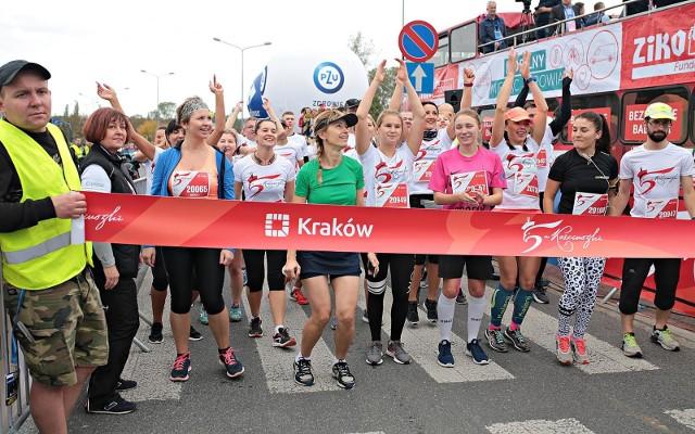 """Kraków. Maraton """"5 dla Kościuszki"""""""