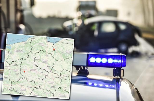 Wakacyjna mapa wypadków dostępna jest na stronie policja.pl