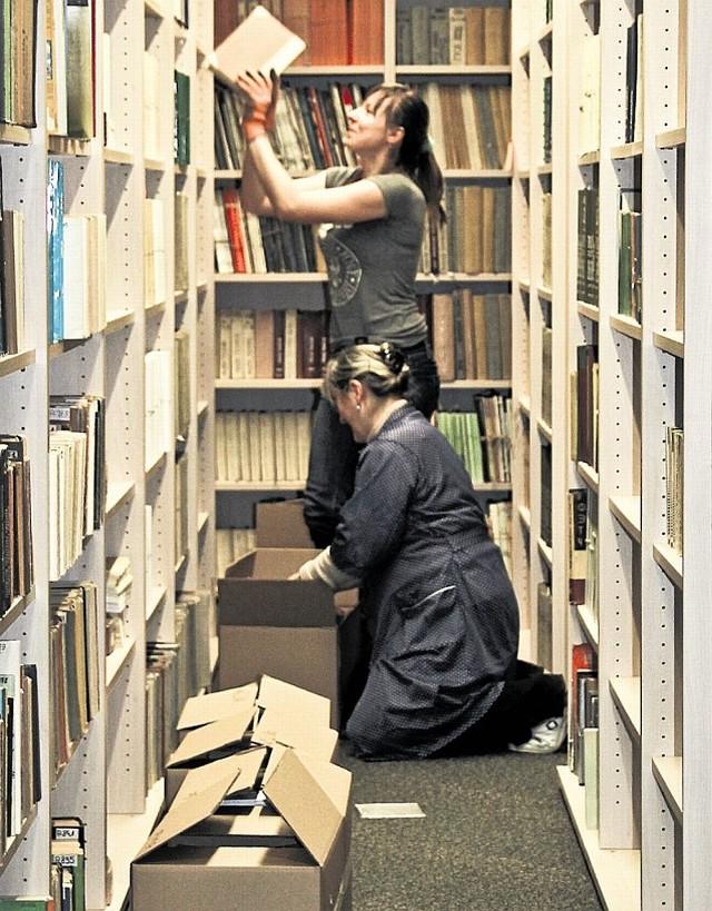 W kampusie trwa wyposażanie między innymi bibliotek wydziałów