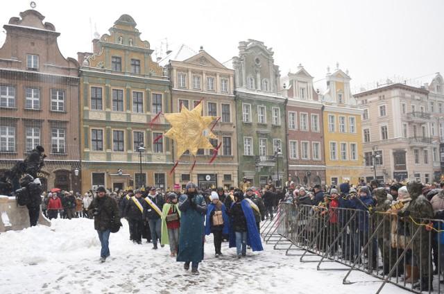 Orszak Trzech Króli w Poznaniu. Tak było rok temu.