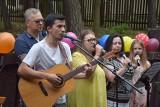Niezwykły koncert w hospicjum na osiedlu Zacisze w Zielonej Górze. Zobacz, kto wystąpił