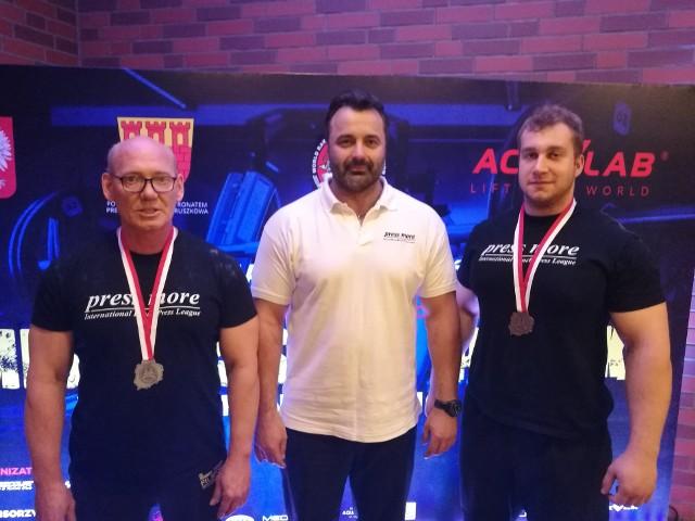 Od lewej: Grzegorz Gapiński, Marcin Laśkiewicz, Adam Hajman