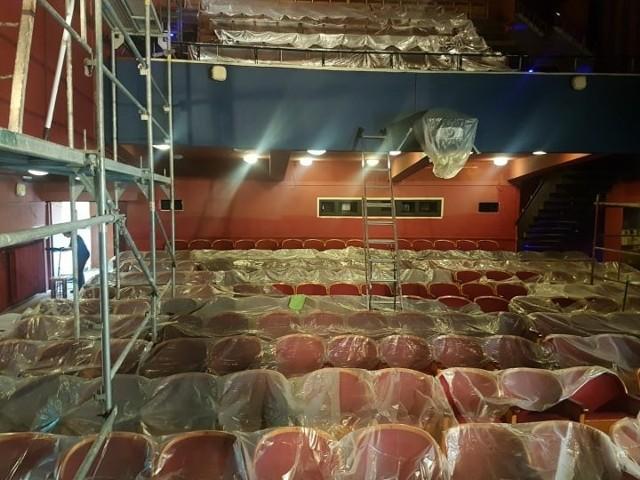W budynku przy ul. Radziszewskiego w Lublinie trwa remont