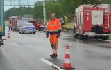 Tragiczny wypadek na A1 przez grad i oberwanie chmury. Jest ofiara śmiertelna i ciężko ranni