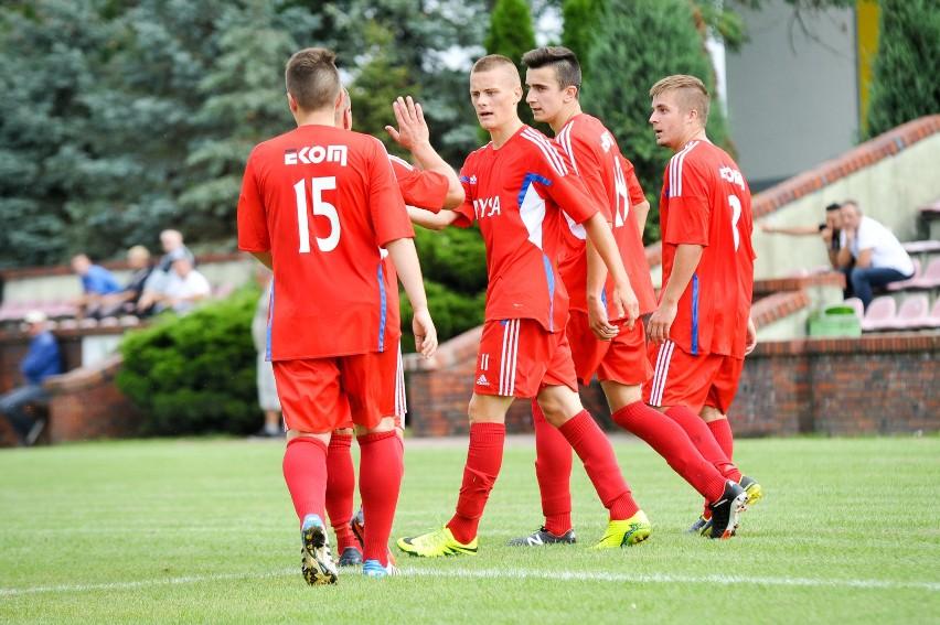 Piłkarz Polonii Nysa znowu mieli powody do radości
