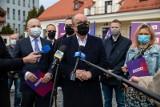 Włodzimierz Czarzasty w Białymstoku. Zainaugurował sojusz Nowej Lewicy i partii Wiosna
