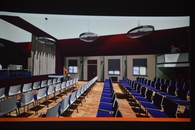 Centrum Kultury Szczaniec - wizualizacja