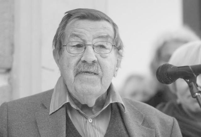 Günter Grass zmarł 13 kwietnia 2015 r.
