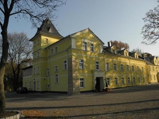 Pałac z Zakrzowa w gminie Gogolin w województwie opolskim...