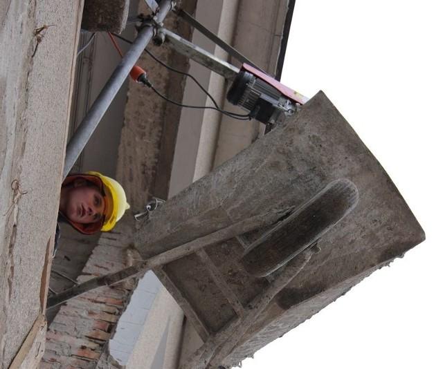 Rozpoczęły się juz prace budowlane w byłym przedszkolu w Lęborku.