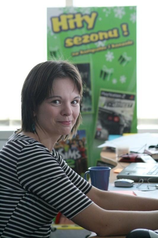 Lidia Zalewska z Electronic Arts Polska.