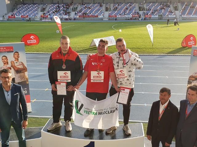 Bartosz Postój (TS Start Lublin) został wicemistrzem Polski w rzucie młotem