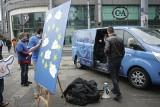 Podróżujący po Europie bus młodzieżówki EPL zawitał do Poznania [ZDJĘCIA]