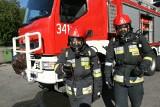 Strażacy zapobiegli tragedii. Wykryli ulatnianie się gazu w domu w Chełmcu