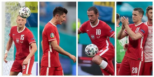 Indywidualne statystyki 19 reprezentantów Polski, którzy zagrali w finałach Euro 2020