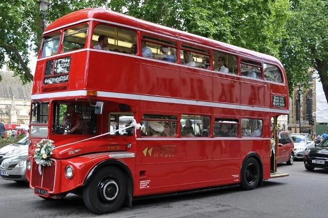 Czerwony londyński autobus pojawi się na ulicach Sępólna 1 maja, z okazji 60-lecia sępoleńskiego Centrum Kultury i Sztuki