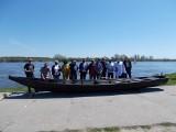 Nieszawa. Tradycyjne łodzie przywitały się z Wisłą [zdjęcia]